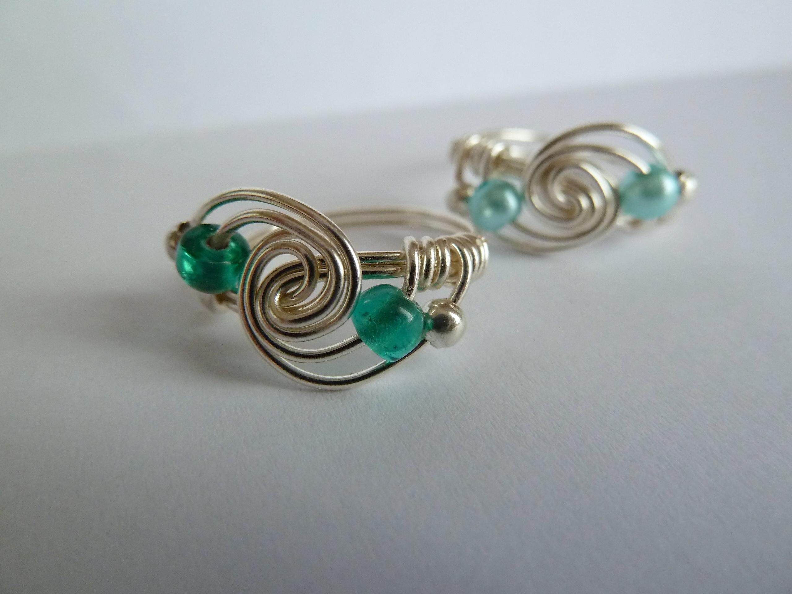 Spiral galaxy rings