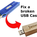 Fix a Damaged USB Memory Stick Case