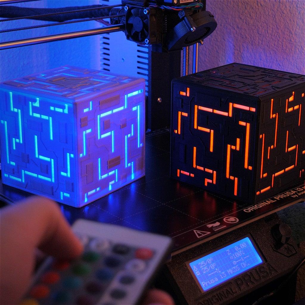 Alien Cube | 3D Printed