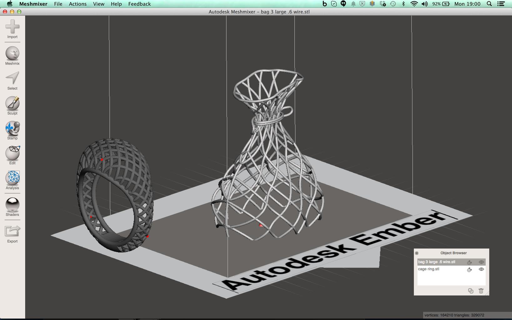 Meshmixer: Importing 3D Models
