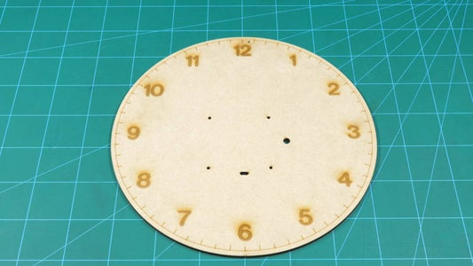 Assembling the Structure of the Wall Clock