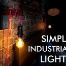 Simple Industrial Bedside Lights