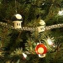 Mario Mushroom Ornaments