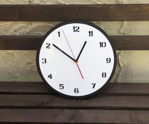 MDF和丙烯酸反向时钟