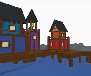 Seaside Village (scene)