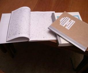 How to Bind a Book, (fake/hybrid Perfect Bind)