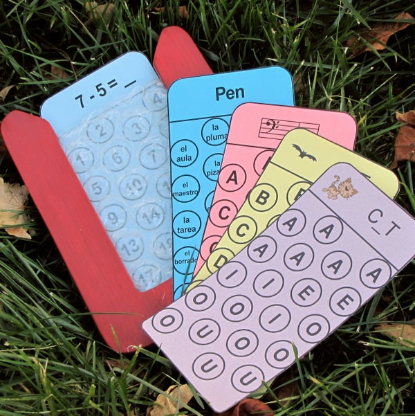 Bubble Wrap Flashcards! ~ Pop-Your-Answer Learning