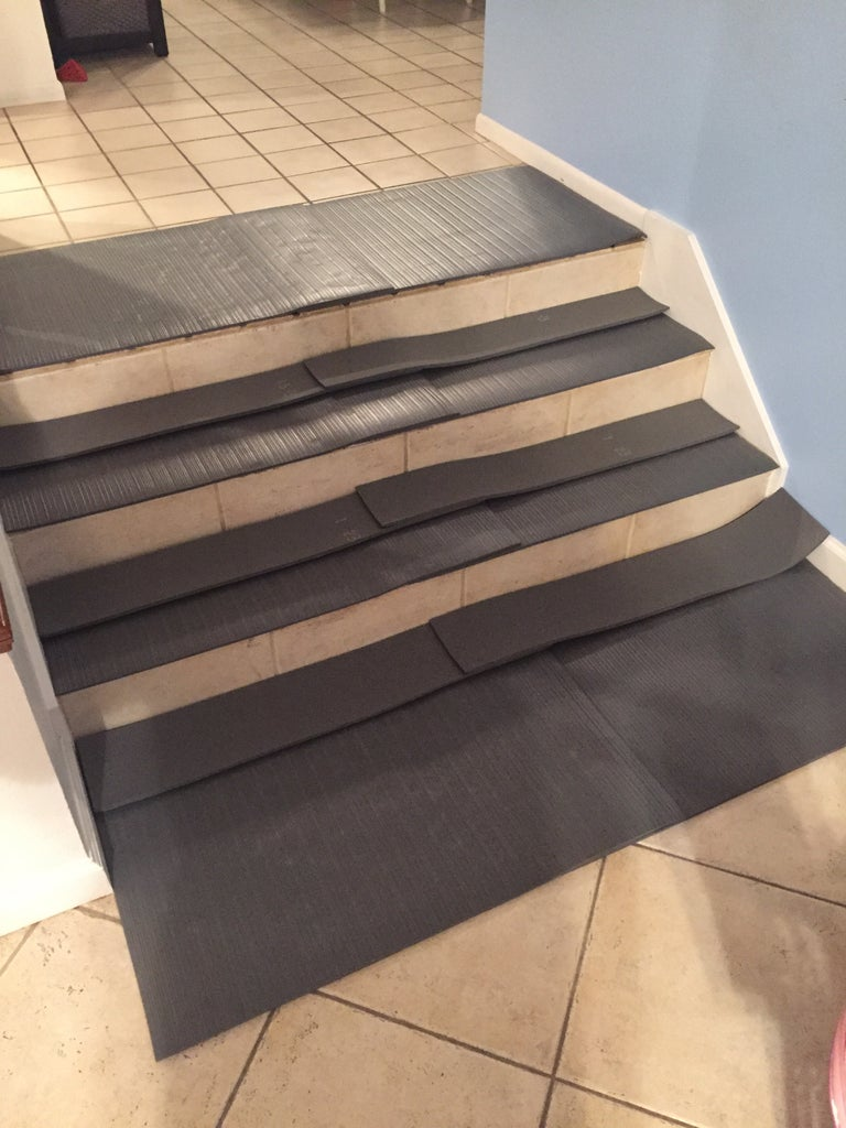 Cut the Second Set of Mats Using the First As Templates