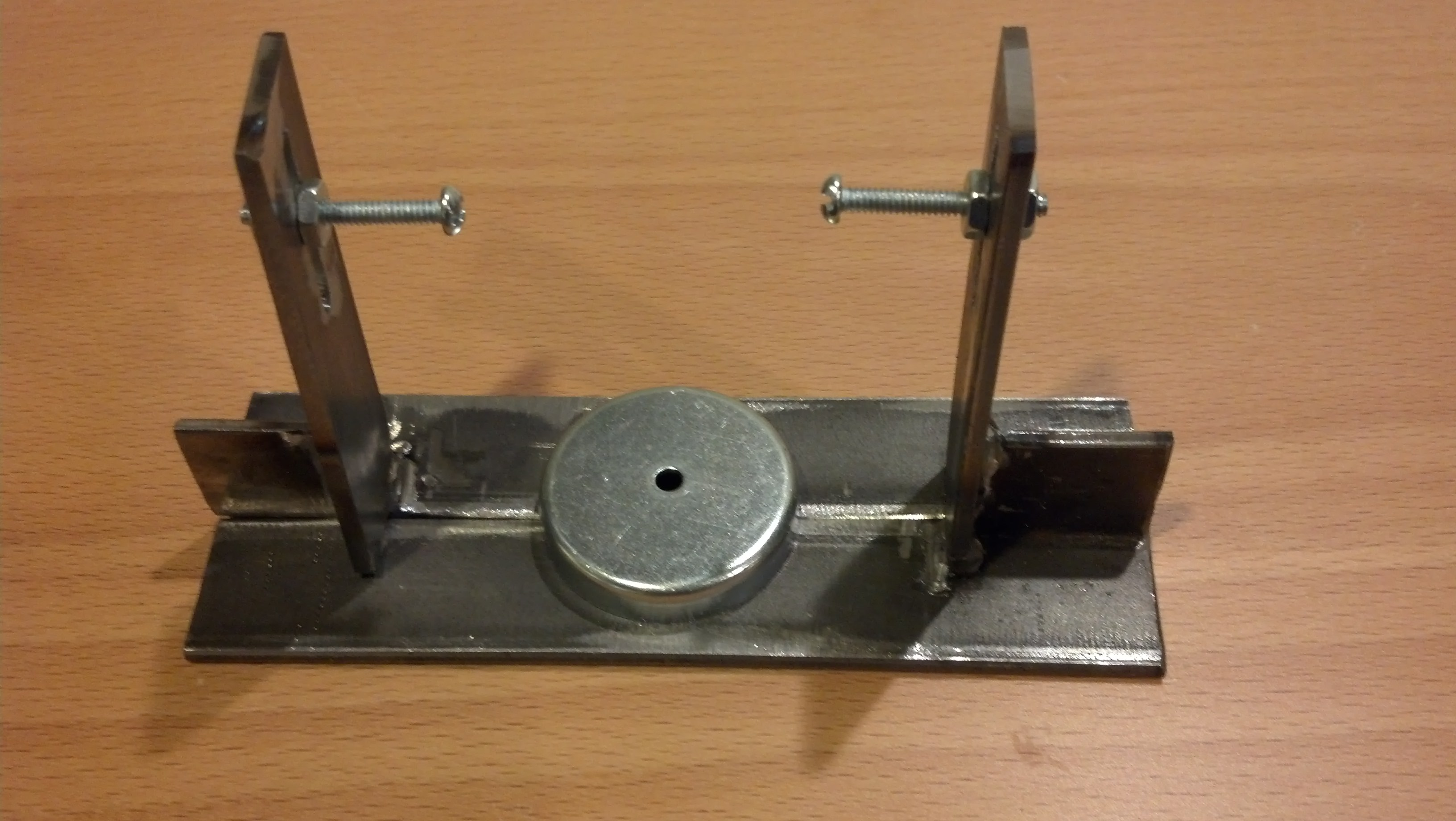 Calipers for wheel truing stand