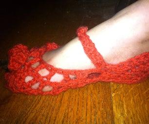 Pumpkin Vintage Slippers
