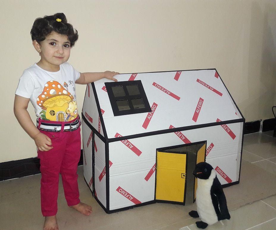 Cute Cardboard House