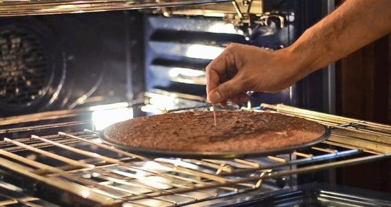 Making the Brownie Base