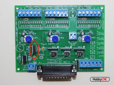 Install (1) LM317