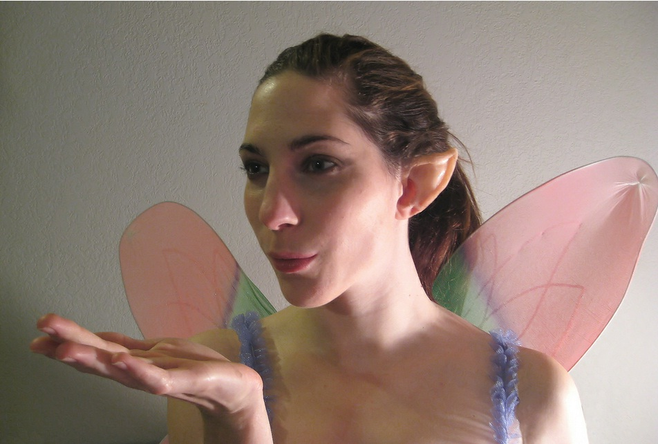 Elf Ears, custom-made in silicone rubber