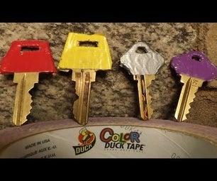 Colorful Key Organization