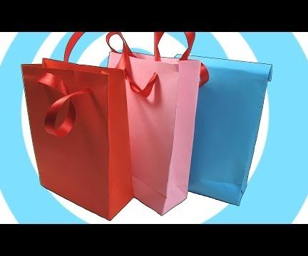 Paper Gift Bag With/without Handles