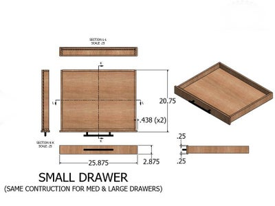 Drawings - Drawers