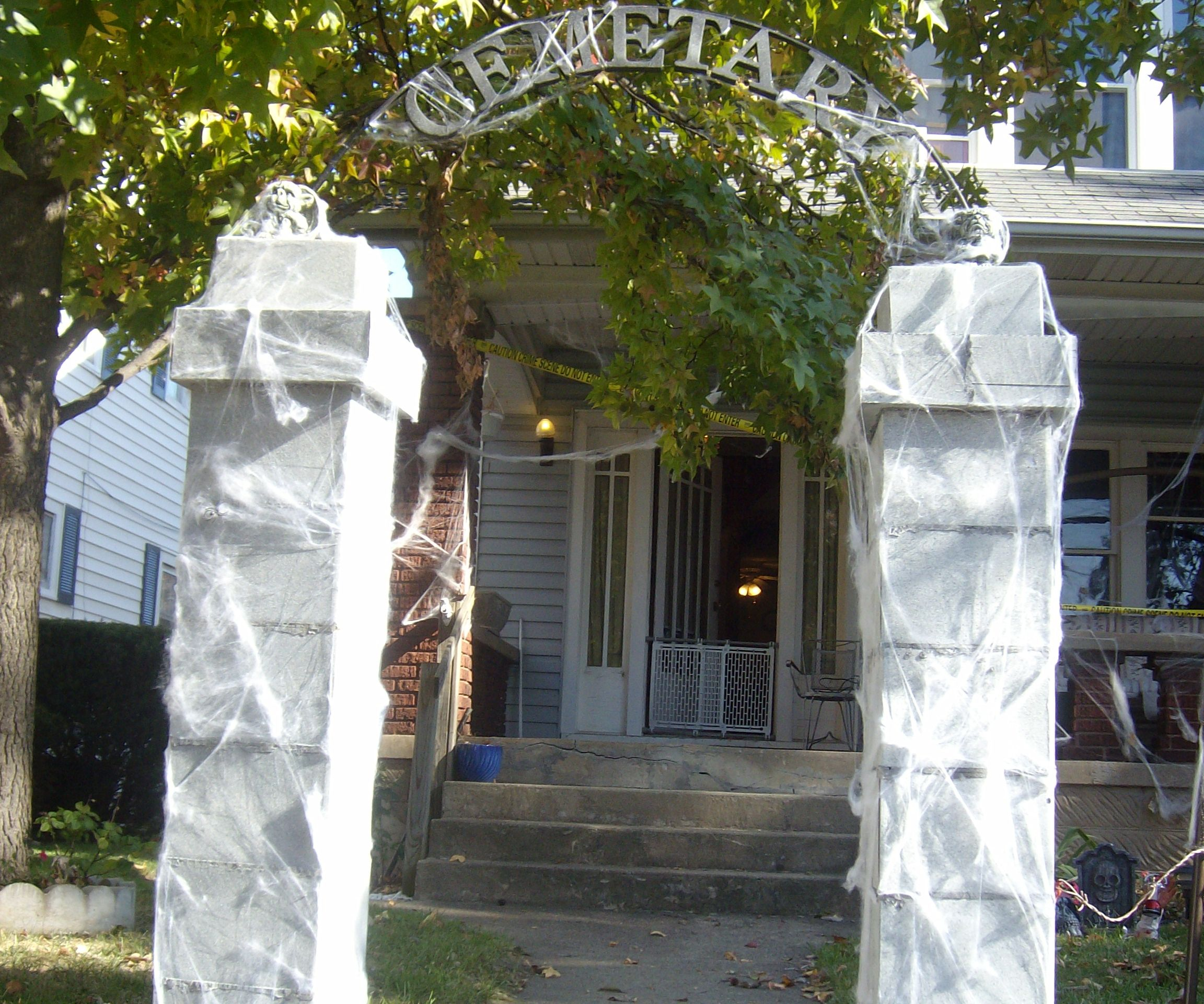 Cemetery Archway Entrance
