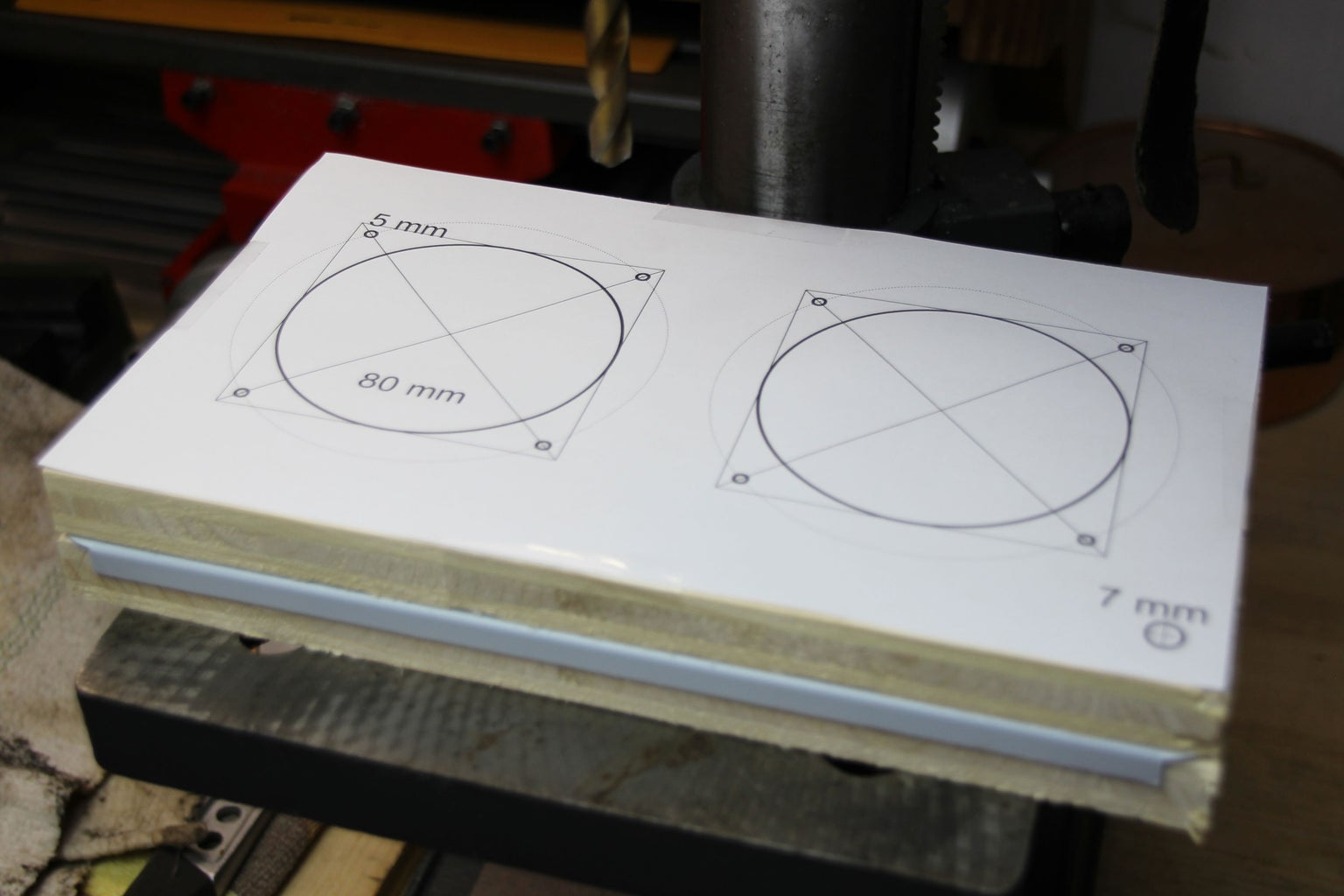 Drilling the Front and Back Plane