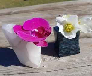 雕刻芽花瓶