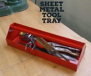 Sheet Metal Tool Tray