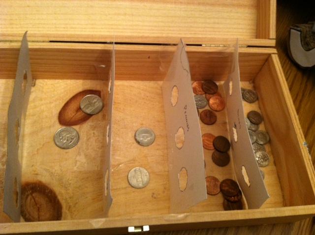 Homemade Coin Sorter
