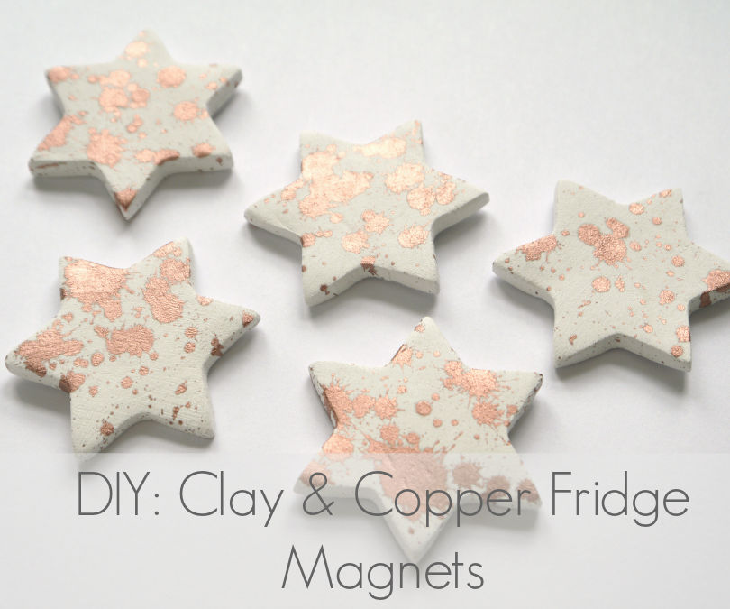 Clay & Copper Fridge Magnets