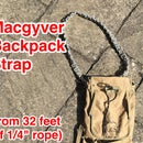 MacGyver Backpack Strap (made From 32' of Rope)