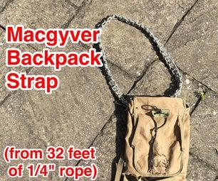 Macgyver背包带(由32'制成)