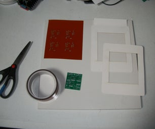 Building  an SMD PCB Stencil and Frame With Eagle Software