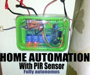 PIR Home Automation