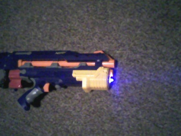 How to Integrate an Ultrabright LED Into Your NERF Longshot