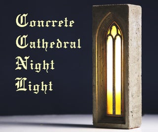 Concrete Cathedral Night Light