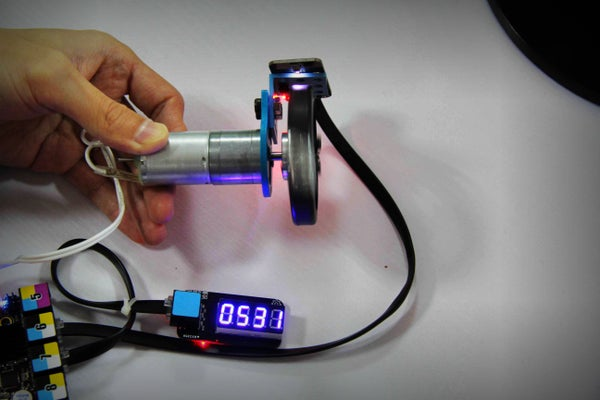 How to Make a Wheel Speed Detector by Using a Light Sensor.
