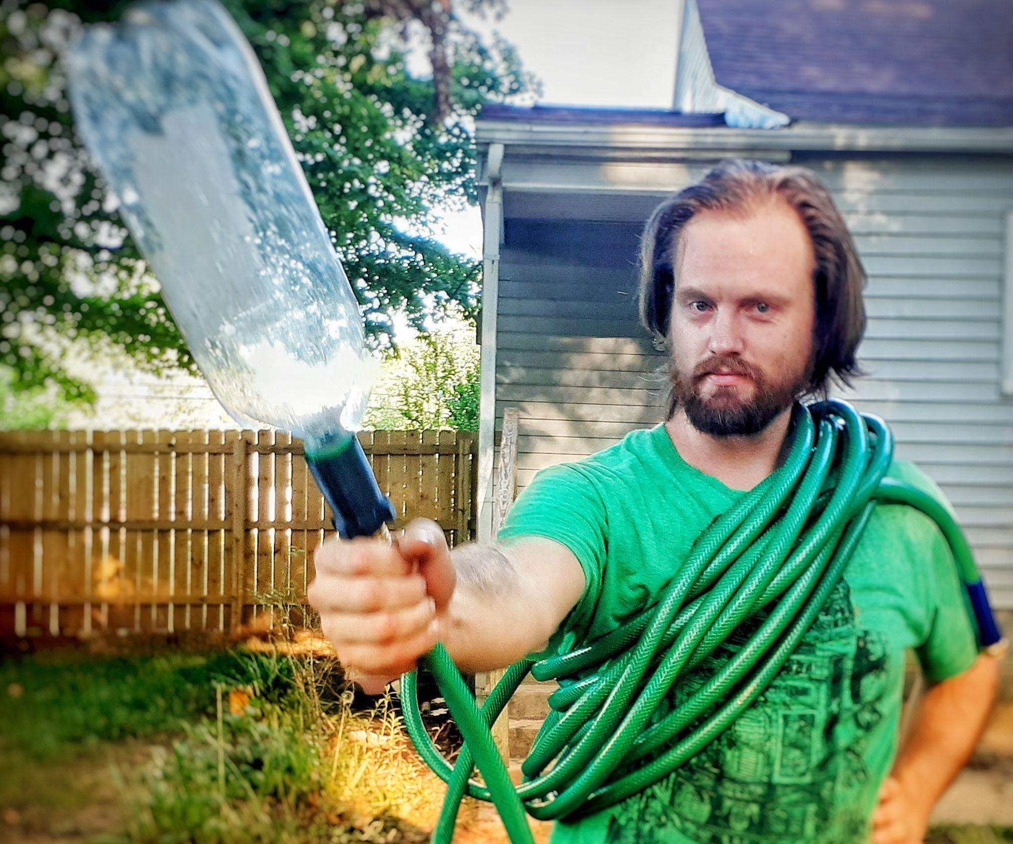 Backyard Play Sprinkler (in 3 Easy Steps!)