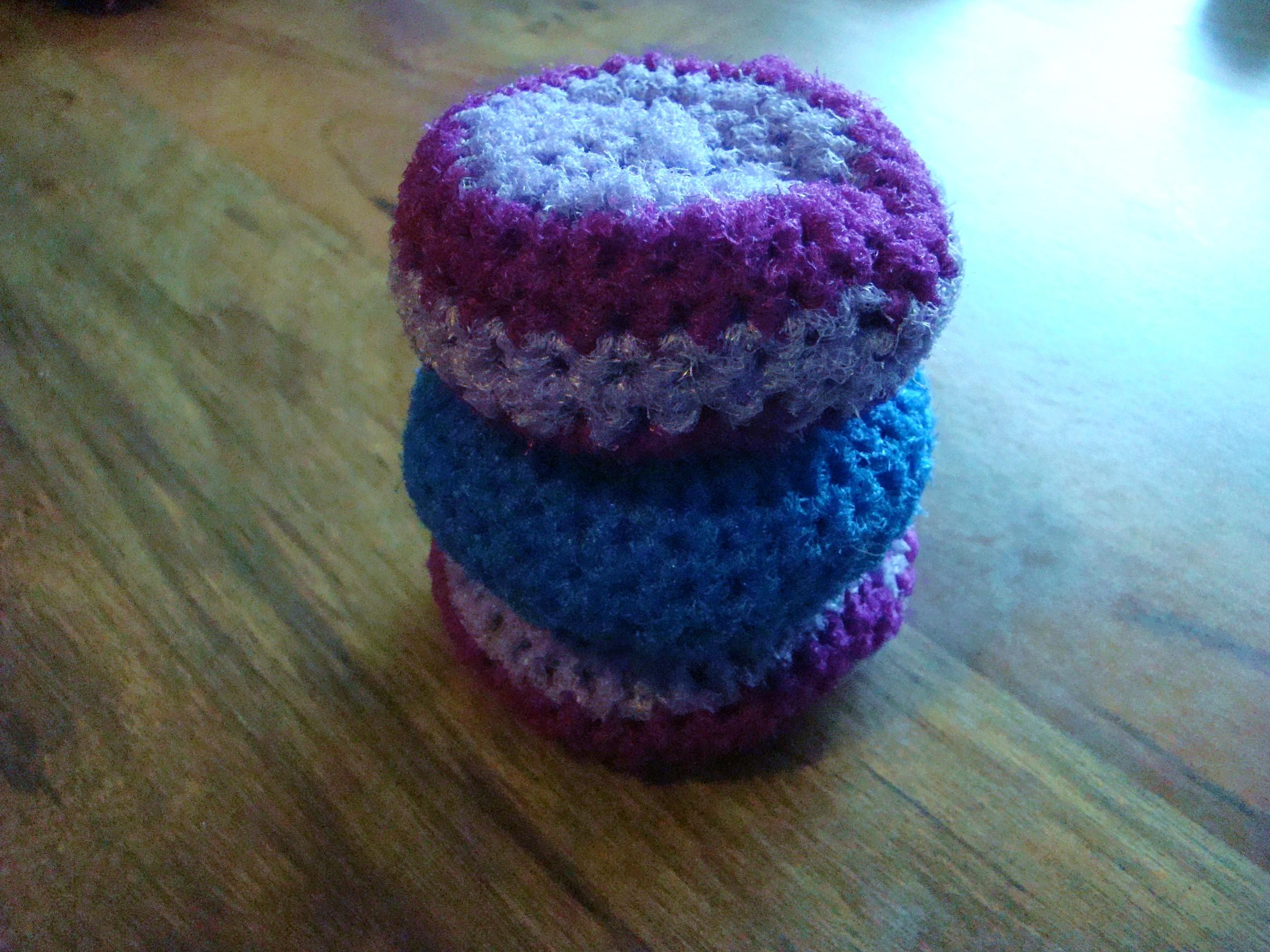 Crocheted Scrubby