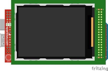 Assembling the TFT LCD