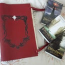 The Red Book of Westmarch the Hobbit Lord of the Rings Book Leather
