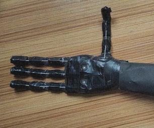 Voice Control Robotic Hand