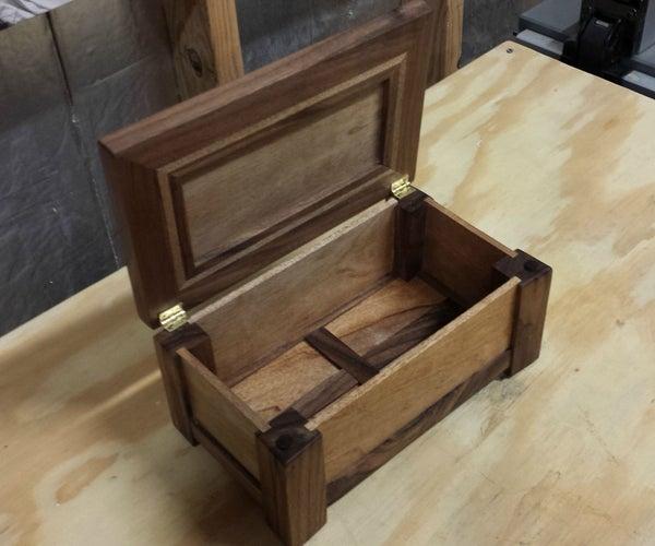 Anniversary Jewelry Box
