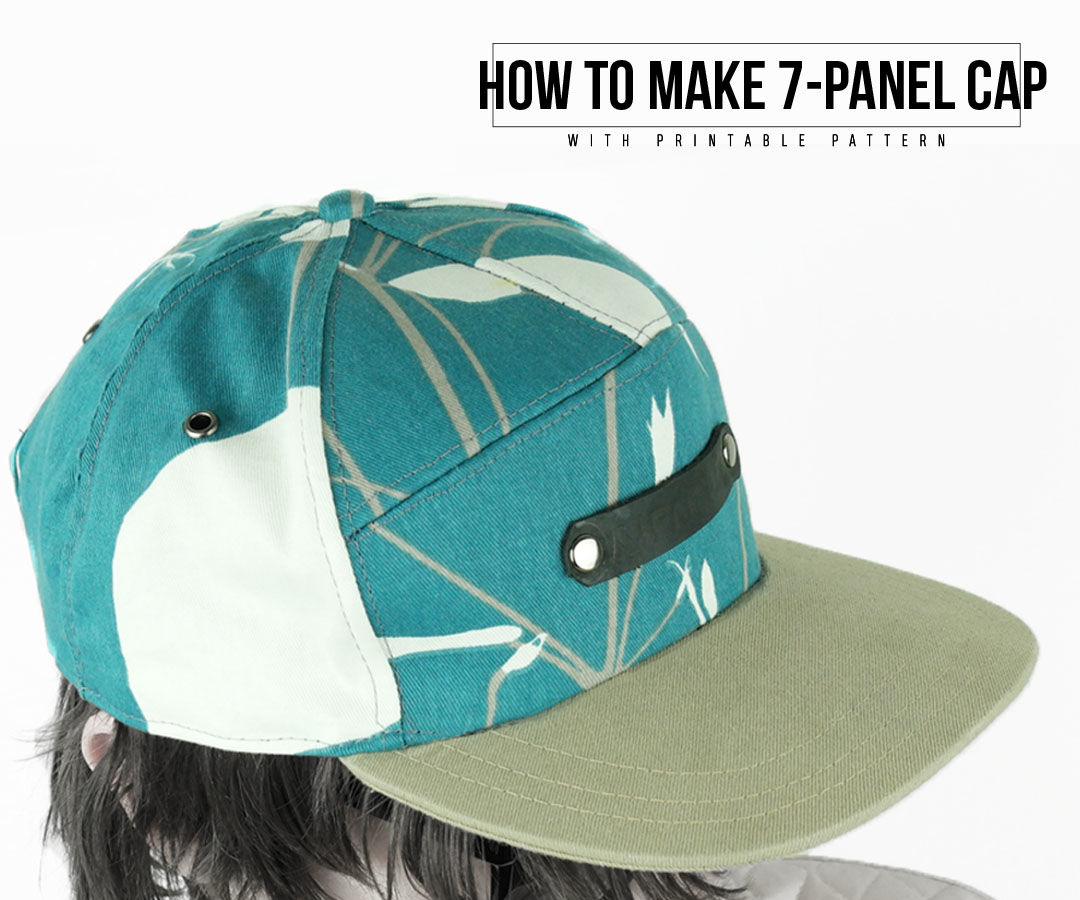 How to Make 7-Panel Cap