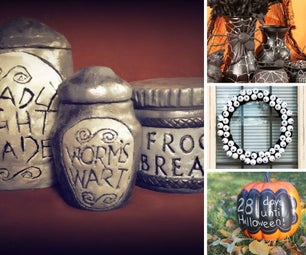 Halloween Decorative Resources
