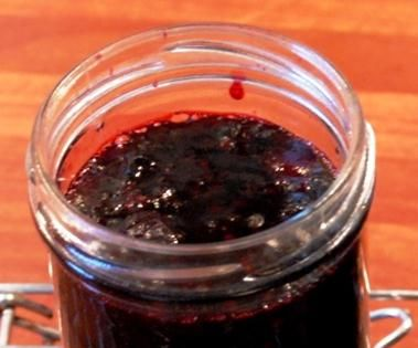 Delicious Bluberry Jam From Frozen Blueberries