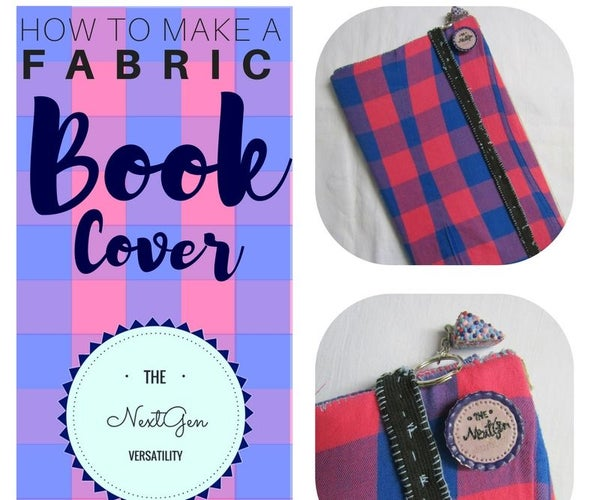 How to Make a Fabric Book Cover