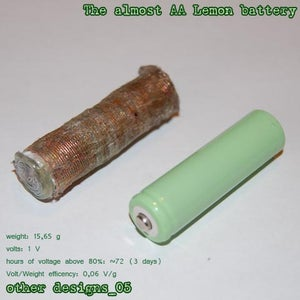 Other Designs_5: the Almost AA Battery