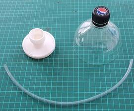 塑料瓶防尘面具