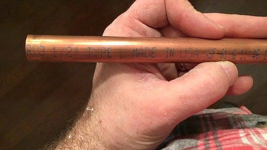 Choosing New Copper Pipe