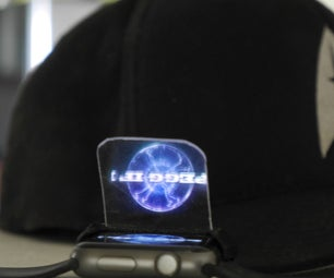 Peppers Holographic Watch Built in Minutes!