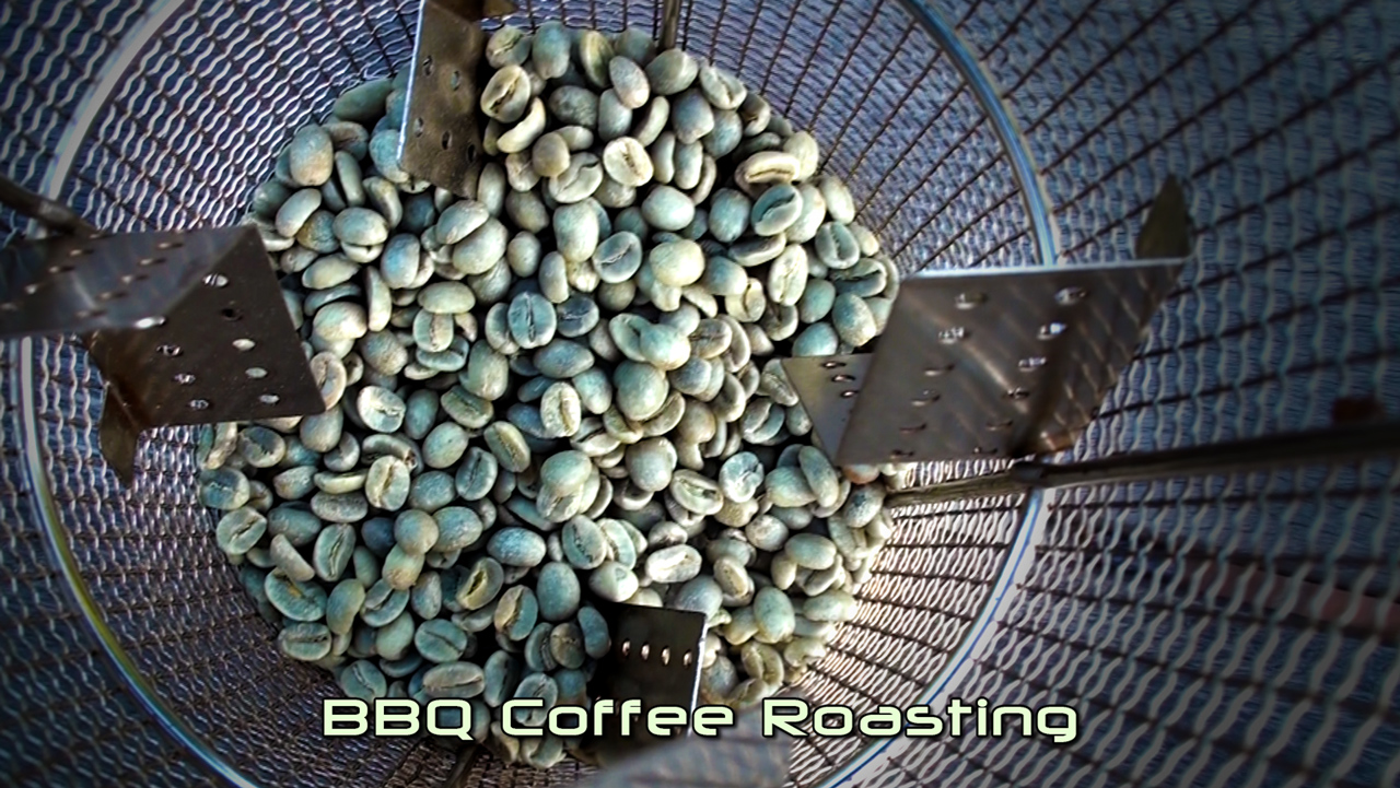 BBQ Coffee Roasting