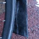 Mud flap for bike fender